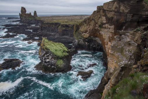 Arnarstapi「West Iceland, Vesturland, Iceland」:スマホ壁紙(17)