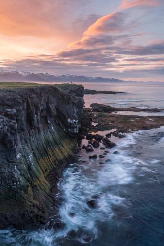 Arnarstapi「West Iceland, Vesturland, Iceland」:スマホ壁紙(13)