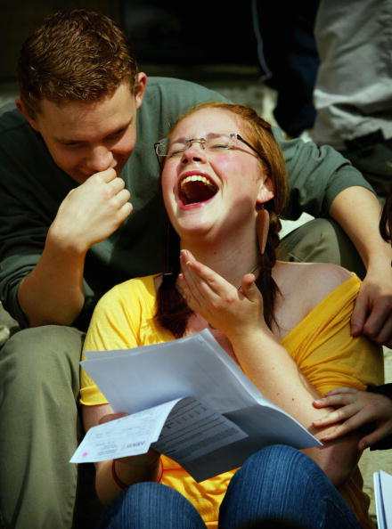 A-Levels「Record Numbers Of Students Celebrate A-Level Passes」:写真・画像(16)[壁紙.com]