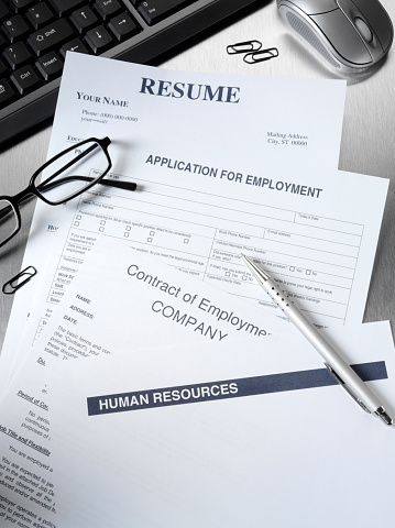 Unemployment「Resume and Employment Application Form」:スマホ壁紙(19)