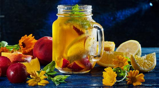 Lemon Soda「Sunny fruit drink」:スマホ壁紙(6)