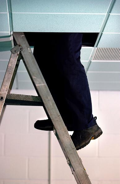 Ceiling「Caretaker checking the electrics」:写真・画像(11)[壁紙.com]