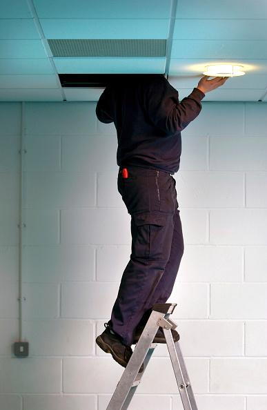 Ceiling「Caretaker checking the electrics」:写真・画像(14)[壁紙.com]
