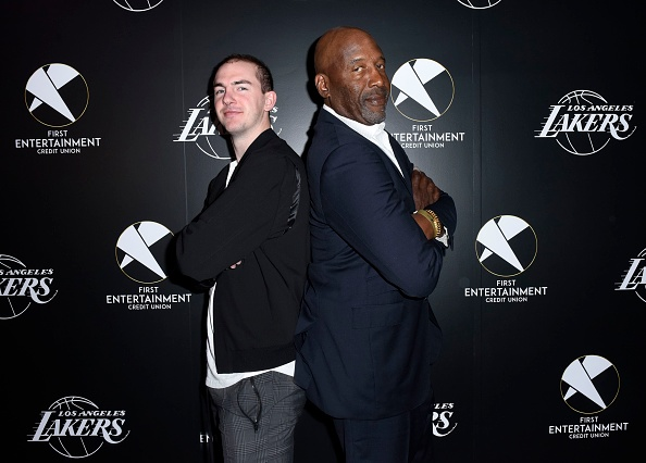 James Worthy「First Entertainment x Los Angeles Lakers and Anthony Davis Partnership Launch Event, March 4 in Los Angeles」:写真・画像(14)[壁紙.com]