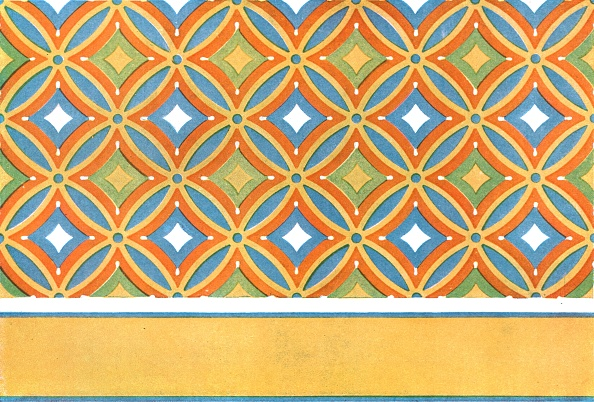 Ceiling「Painted Ceiling In The Tomb Of Amenemhet At Thebes」:写真・画像(13)[壁紙.com]