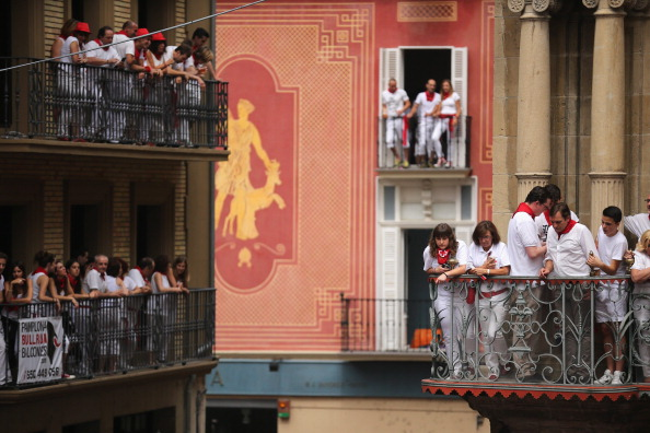 Architectural Feature「Pamplona Running Of The Bulls」:写真・画像(12)[壁紙.com]