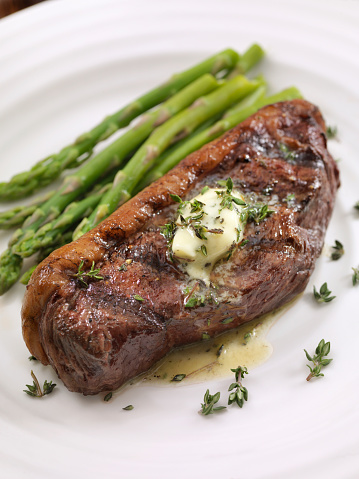 Tenderloin「Medium Rare Top Sirloin Steak with Herb Garlic Butter」:スマホ壁紙(14)
