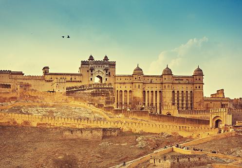 Rajasthan「Amber Fort India」:スマホ壁紙(0)
