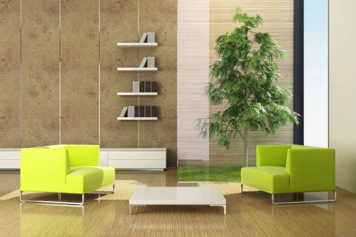 Environmental Conservation「Modern Green Eco House」:スマホ壁紙(17)