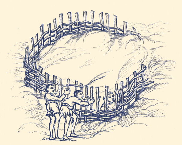 Confined Space「Agriculture in England: Making wattled enclosure」:写真・画像(4)[壁紙.com]