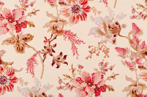 Floral Pattern「Belgrave Floral Close Up Antique Fabric」:スマホ壁紙(15)