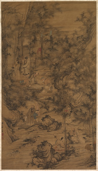 Grove「The Seven Worthies Of The Bamboo Grove」:写真・画像(7)[壁紙.com]