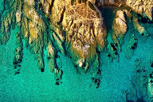 島「Sardinia Southeast Coast, Italy」:スマホ壁紙(2)