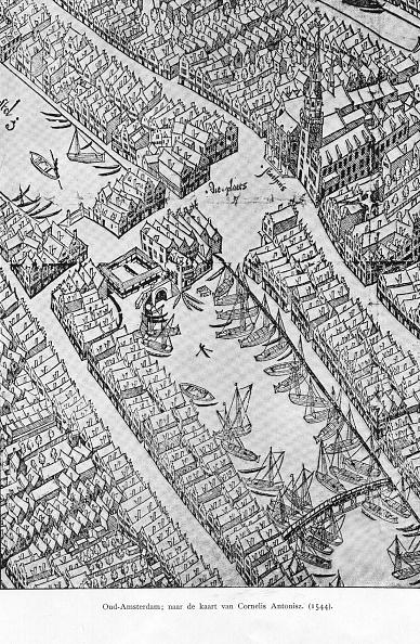 North Holland「Map Of Amsterdam」:写真・画像(8)[壁紙.com]