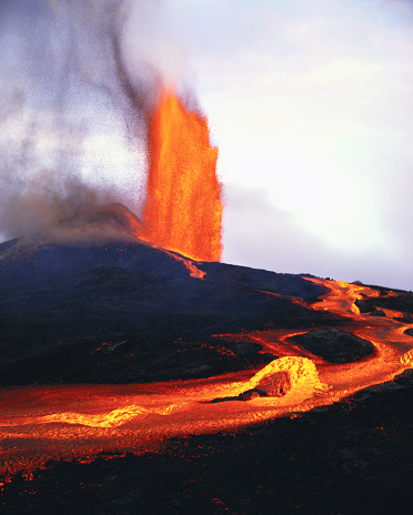 Active Volcano「Kilauea Erupting」:スマホ壁紙(9)