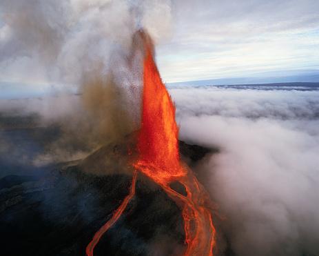 Active Volcano「Kilauea Erupting」:スマホ壁紙(12)