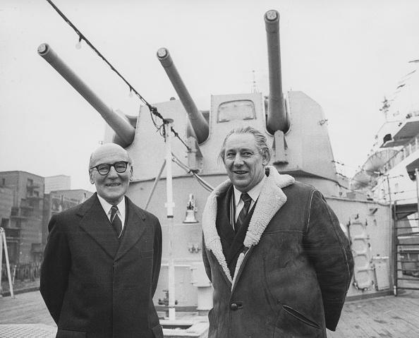 HMS Belfast「Sir Frederick Parham And Helmut Voekhoff」:写真・画像(10)[壁紙.com]
