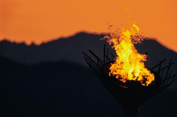 Sport Torch「XVIII Olympic Winter Games」:写真・画像(5)[壁紙.com]