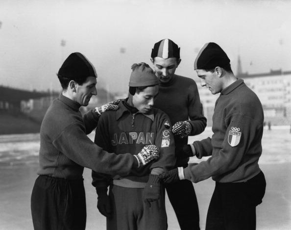 1952年オスロオリンピックの写真...