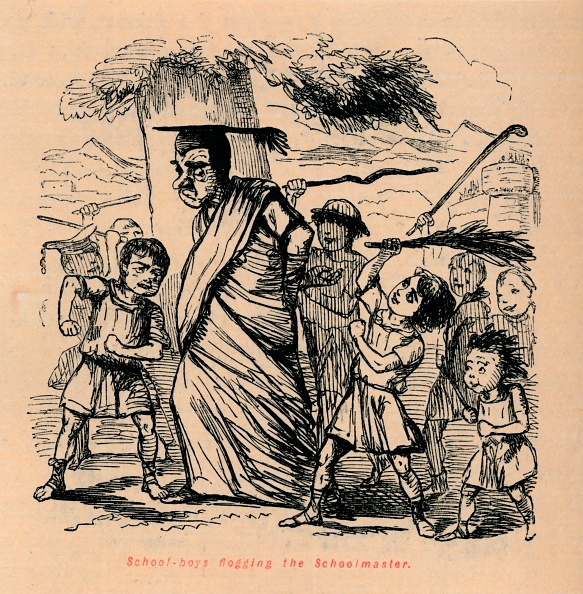 Cartoon「School-Boys Flogging The Schoolmaster」:写真・画像(12)[壁紙.com]