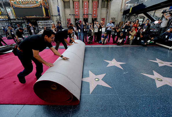 Preparation「87th Annual Academy Awards - Red Carpet Installation Photo Op」:写真・画像(18)[壁紙.com]