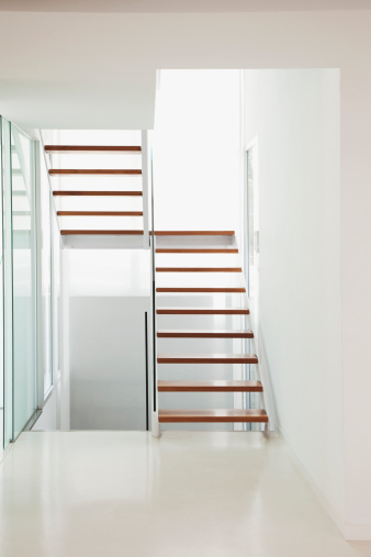 Staircase「Stairs in modern house」:スマホ壁紙(4)
