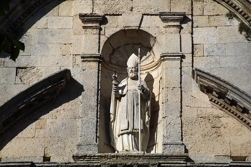 Nouvelle-Aquitaine「Statue of St Martin, St-Martin-de-Re, France.」:スマホ壁紙(13)