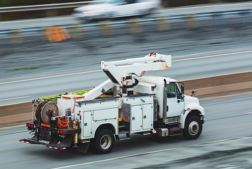 Restoring「Power Utility Truck en Route」:スマホ壁紙(8)