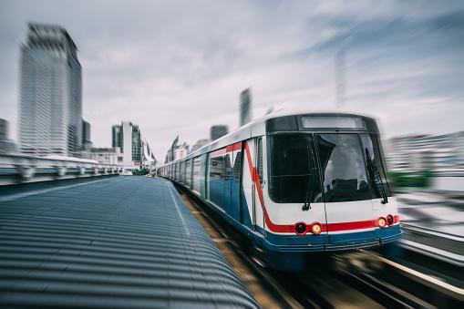 Railway「Subway track through the city of Bangkok」:スマホ壁紙(17)