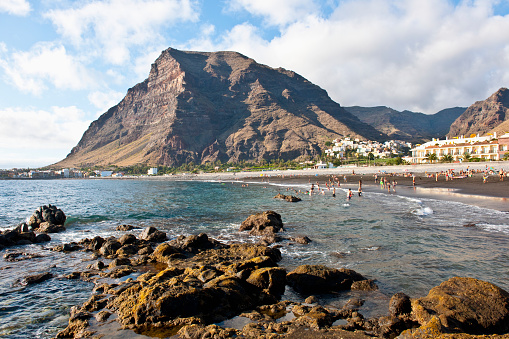 Atlantic Islands「Valle Gran Rey beach, La Gomera, Spain」:スマホ壁紙(19)