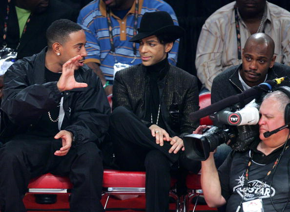 ミュージシャン「Celebrities At 2007 NBA All Star Game」:写真・画像(17)[壁紙.com]
