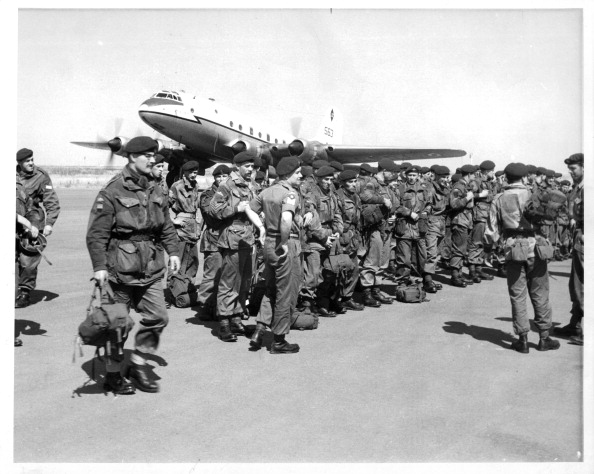 Republic Of Cyprus「BRITISH PARATROOPERS ARRIVE IN CYPRUS」:写真・画像(16)[壁紙.com]