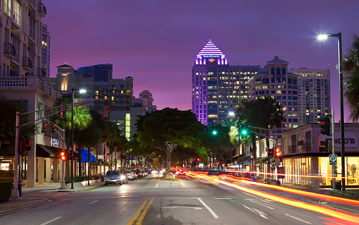 Fort Lauderdale「Downtown Fort Lauderdale, Florida」:スマホ壁紙(11)