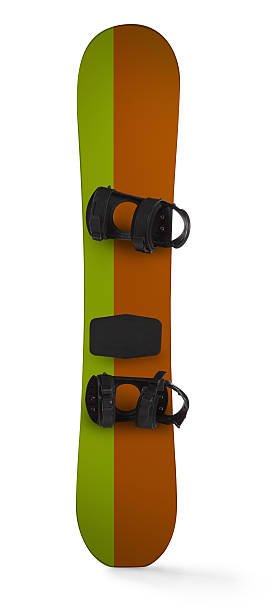 Snowboard Isolated on a White Background:スマホ壁紙(壁紙.com)