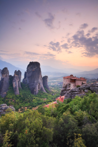 Thessaly「Meteora, Greece」:スマホ壁紙(4)