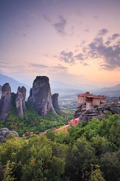 Meteora, Greece:スマホ壁紙(壁紙.com)