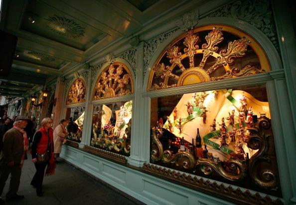 Ornate「Fortnum & Mason Unveil Christmas Window Displays」:写真・画像(15)[壁紙.com]