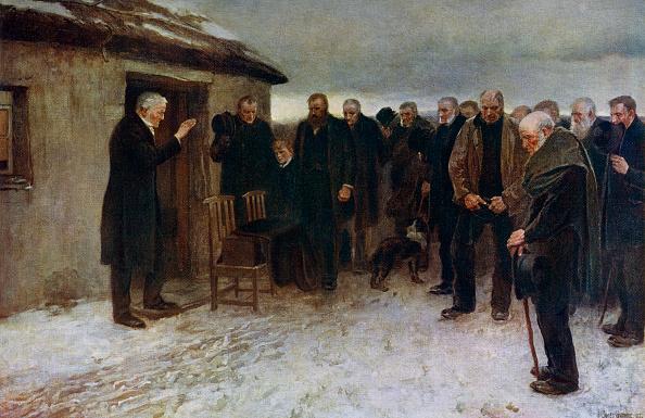 Overcast「'A Highland Funeral', 1882, (1912).Artist: Sir James Guthrie」:写真・画像(6)[壁紙.com]