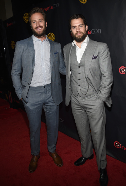 """Armie Hammer「CinemaCon 2015 - Warner Bros. Pictures Invites You To """"The Big Picture,"""" An Exclusive Presentation Highlighting The Summer Of 2015 And Beyond」:写真・画像(16)[壁紙.com]"""