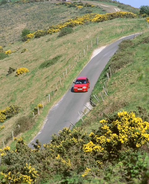 Empty Road「1996 Suzuki Baleno GS Sport on winding country lane Dorset」:写真・画像(6)[壁紙.com]
