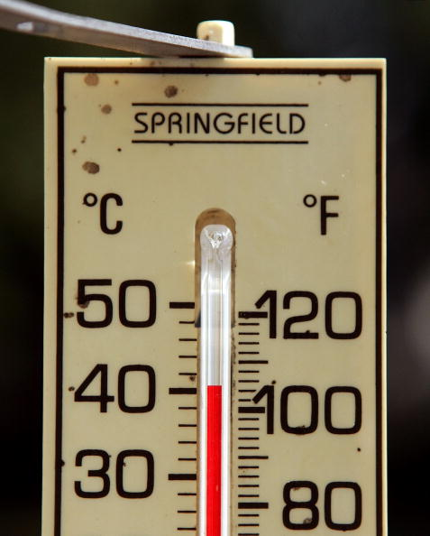 Thermometer「Near-Record Heat Wave Grips U.S. East Coast, Midwest」:写真・画像(3)[壁紙.com]