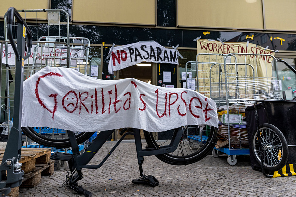 New Business「Gorillas Couriers Protest Over Working Conditions」:写真・画像(15)[壁紙.com]