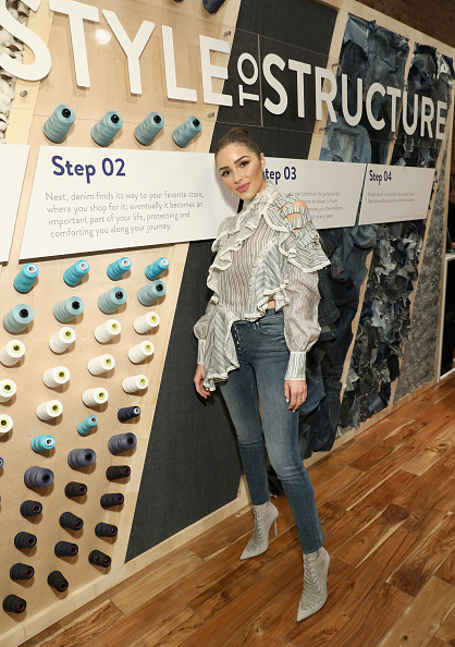 Actress「Cotton Incorporated Celebrates 10 Years Of The Blue Jeans Go Green Denim Recycling Program With A Pop-up Gallery」:写真・画像(7)[壁紙.com]