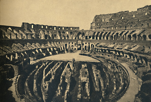 Amphitheater「Roma - Flavien Ampitheatre 1910」:写真・画像(12)[壁紙.com]