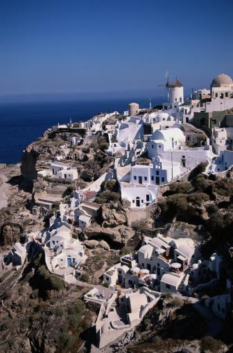 Aegean Sea「Village of Dia in Greece」:スマホ壁紙(12)
