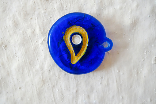 Evil「Plastic nazar bonugu evil eye amulet on wall」:スマホ壁紙(19)
