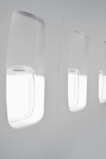 Passenger Cabin「Airplane cabin window」:スマホ壁紙(8)