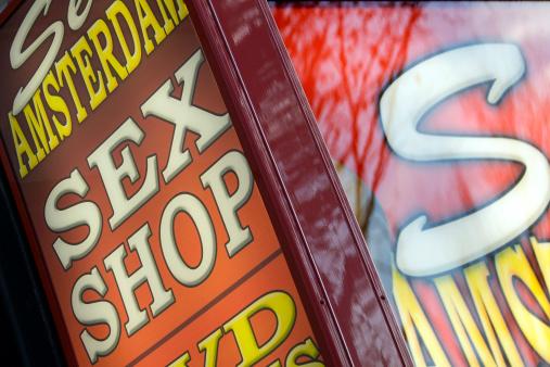 Amsterdam「Sex Shop」:スマホ壁紙(1)