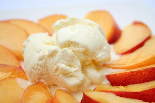 Peach「ピーチズ、アイスクリーム」:スマホ壁紙(14)
