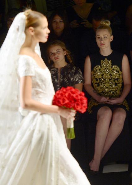Morgan Saylor「Naeem Khan - Front Row - Mercedes-Benz Fashion Week Spring 2014」:写真・画像(19)[壁紙.com]